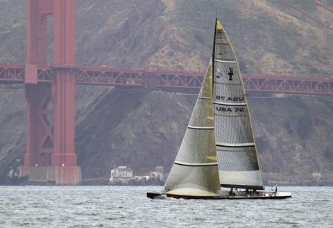 maqueta de velero en artesanía náutica